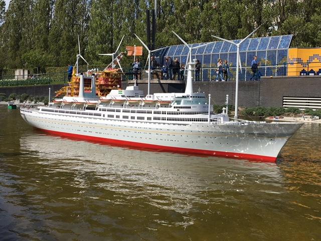 The ss Rotterdam in Madurodam