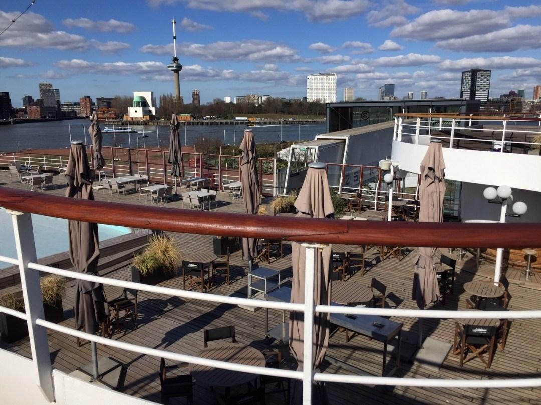 The Lido terrace is open again!