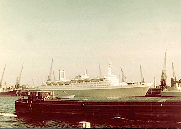 50 years ago last departure from Rotterdam
