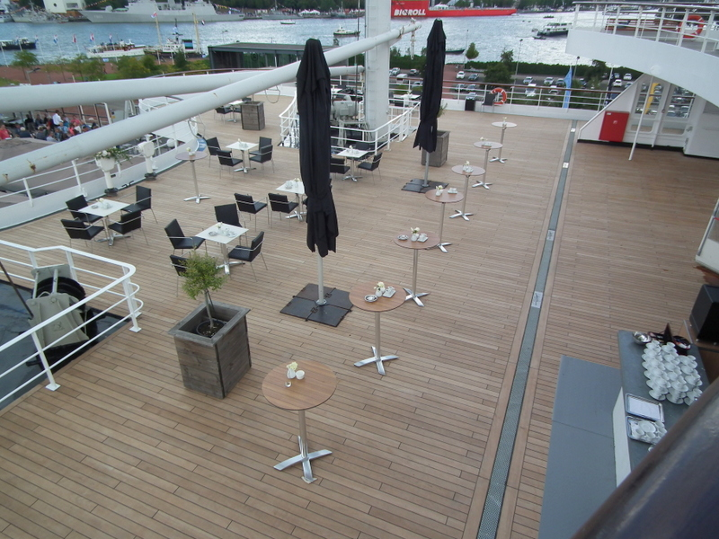 Renovation UP-deck has been finished