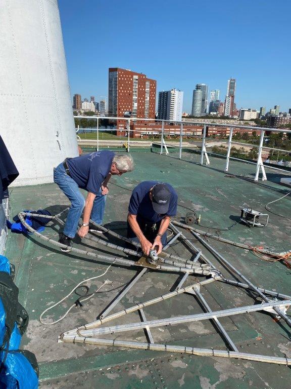Vrijwilligerswerk op het ss Rotterdam