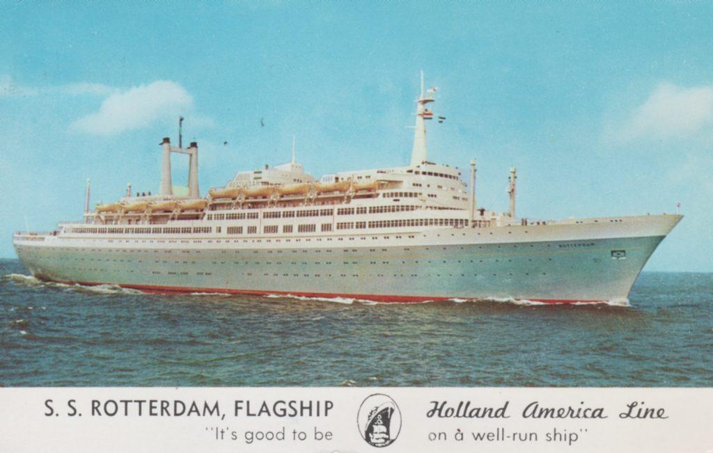 Het ss Rotterdam in The Golden Age of Cruising