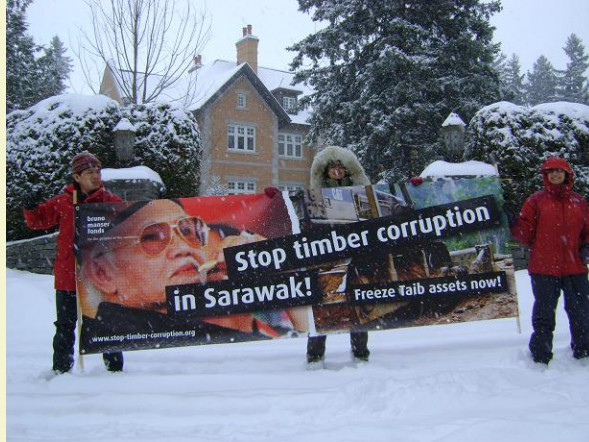 Canada, UK governments asked to freeze Taib assets