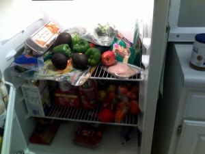 Organize your food for weight loss