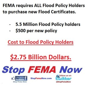 Cost to Flood Policy Holders
