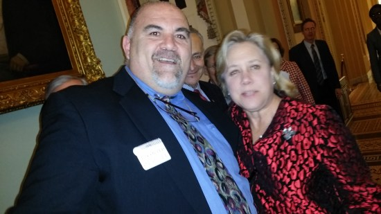 George Kasimos and Senator Landrieu