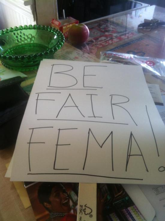 Be fair fema