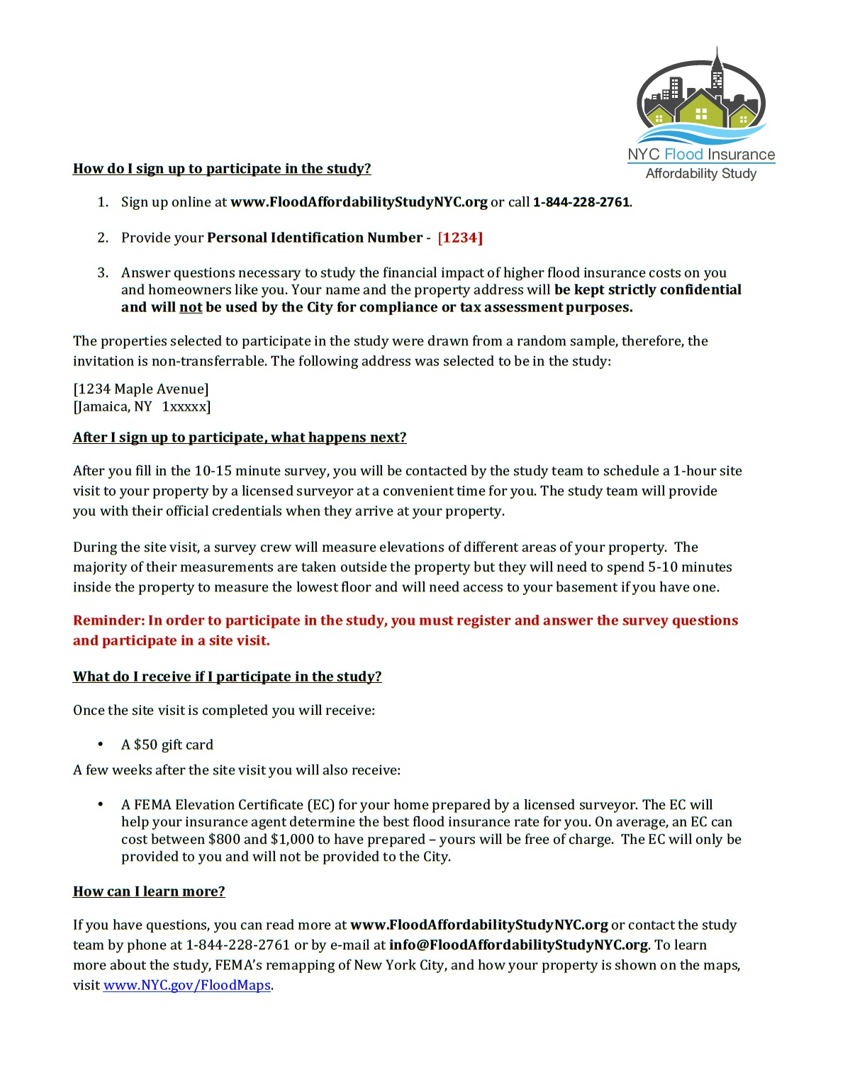 Free elevation certificates to new york city residents who nyc resiliency page 2 1betcityfo Gallery