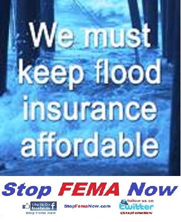 New FEMA Rating System = Higher Flood Premiums - Stop FEMA Now