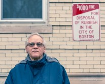 Coming home for family: Dad, in South End Boston