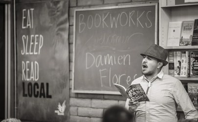 Junkyard Dogs book release - poems by Damien Flores | Stopped Down Studio