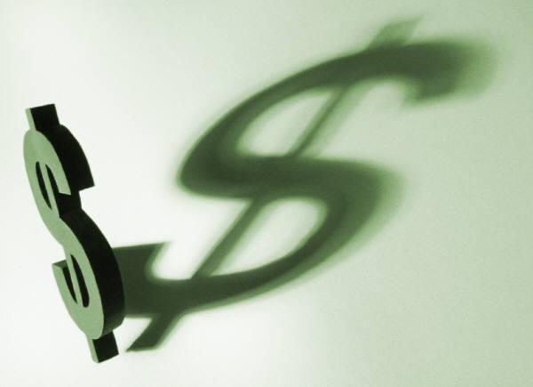 MS dollar sign & shadowshadow