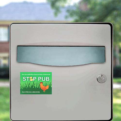 sticker stop pub campagne