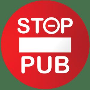 STOP PUB sens interdit