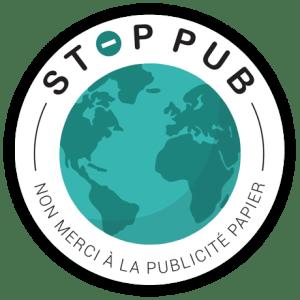 STOP PUB Rond Planète