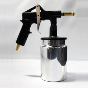 Persreservoir pistool met beker