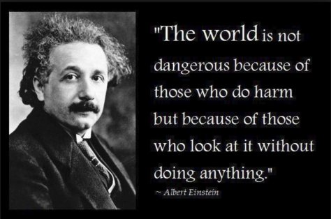 Einstein - World Dangerous Place