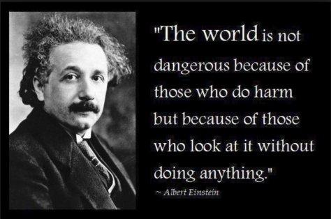 Einstein - World Dangerous Place