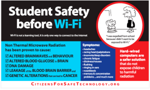 Student Safety before Wi-Fi