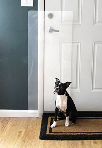 Hereu0027s A Door Scratch Shield From ClawGuard Which Promises To Be A Simple,  Convenient, And Effective Solution For Preventing Your Dog From Scratching  Up ...
