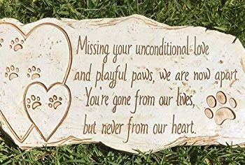 The Best Pet Memorial Stones - A Perfect Way To Honor Your Dog 20