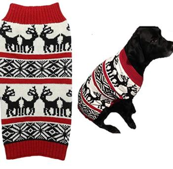 Christmas Dog Sweaters - Perfect Xmas Gift Ideas For Dog Owners 8