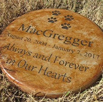 The Best Pet Memorial Stones - A Perfect Way To Honor Your Dog 17