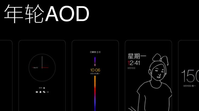 Hydrogen OS AOD