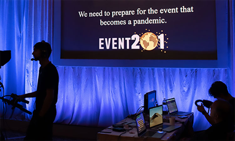 Event201 planned pandemic exercise