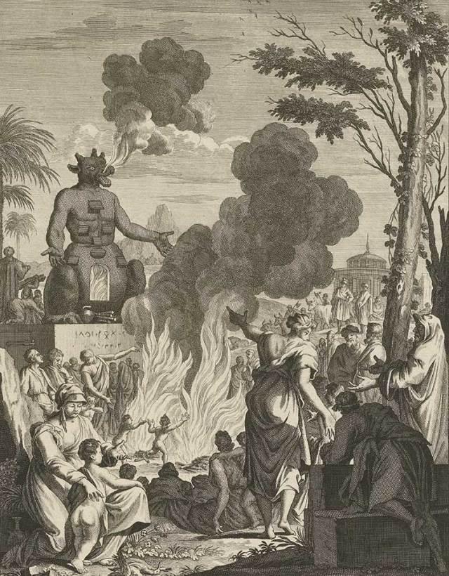 moloch φωτιά