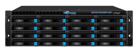 Barracuda Message Archiver1050: soluzione completa per l'archivio di posta elettronica. Indicizza e protegge tutte le email e implementa le policy per la conformità alle normative.