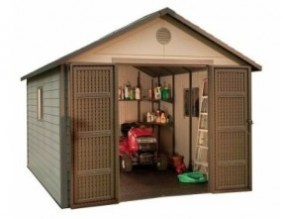 Lifetime 6433 11-by-11-Foot Outdoor Storage Shed