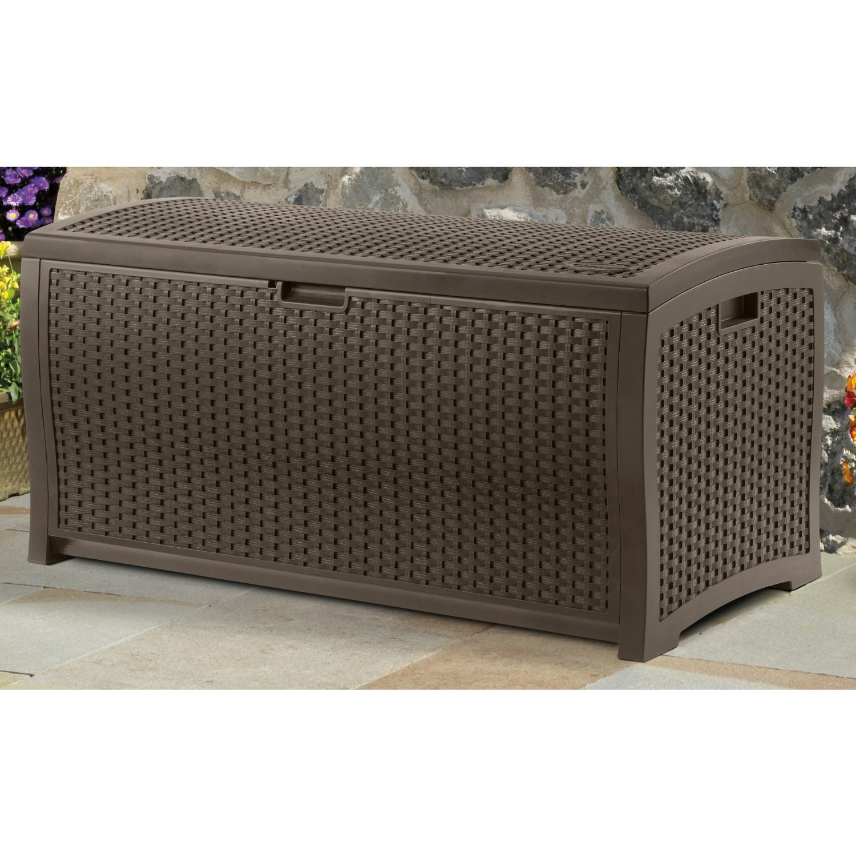 Suncast Mocha Deck Box
