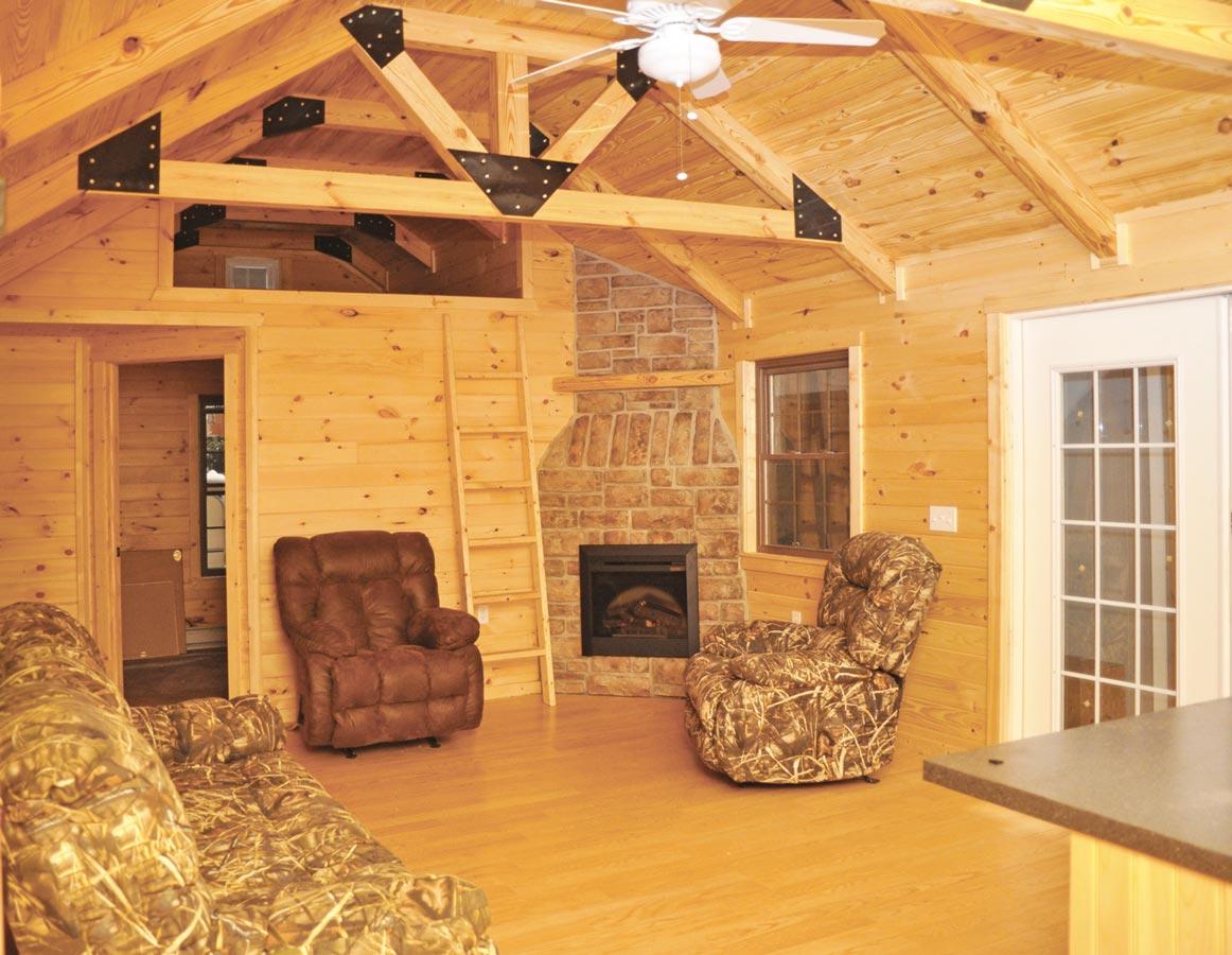 Tuff Shed Homes Interior