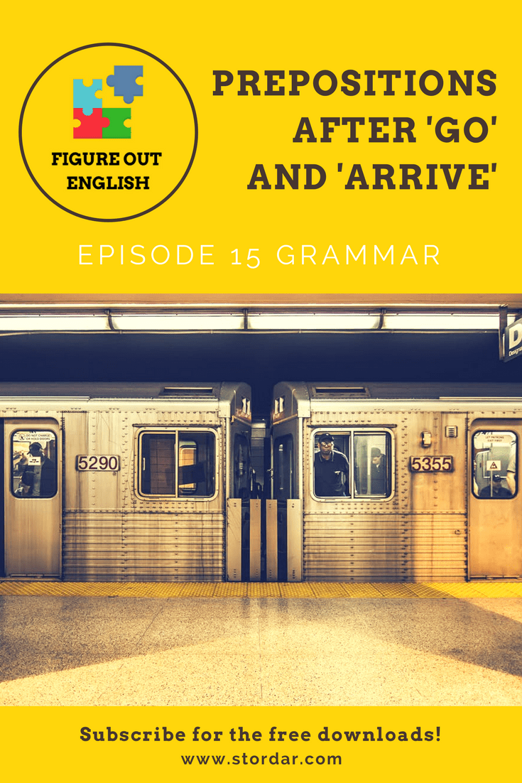 Episode 15 Prepositions of Movement | Figure Out English