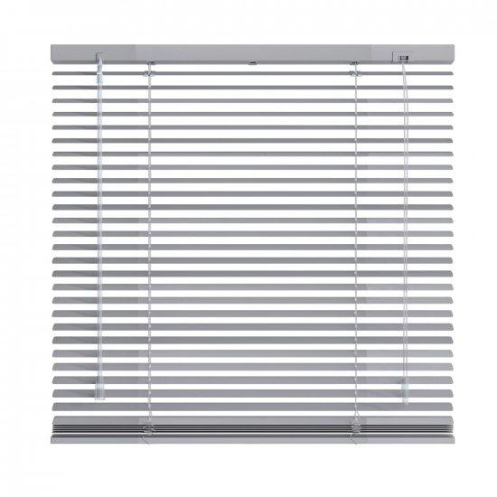 store venitien aluminium gris clair mat