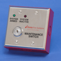 KIDDE 76-600000-200 Suppression Key Maintenance Switch