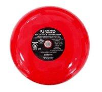 """Notifier 6"""" 24VDC Bell, Red"""