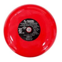 "Notifier 6"" 24VDC Bell, Red"