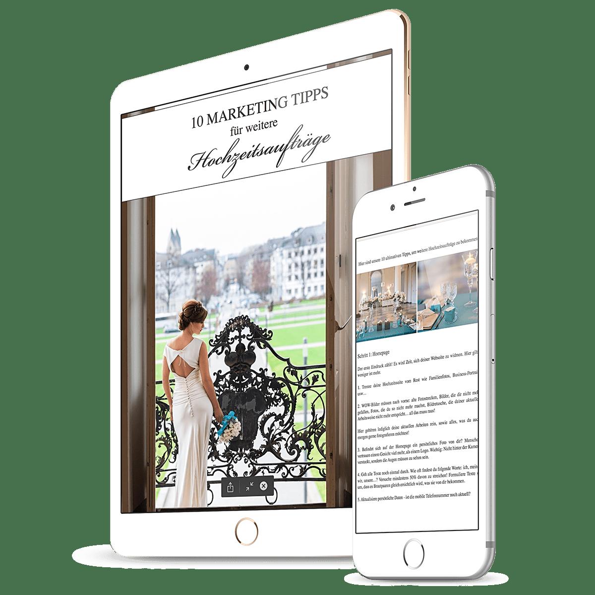 10 Marketing Tipps für weitere Hochzeitsaufträge