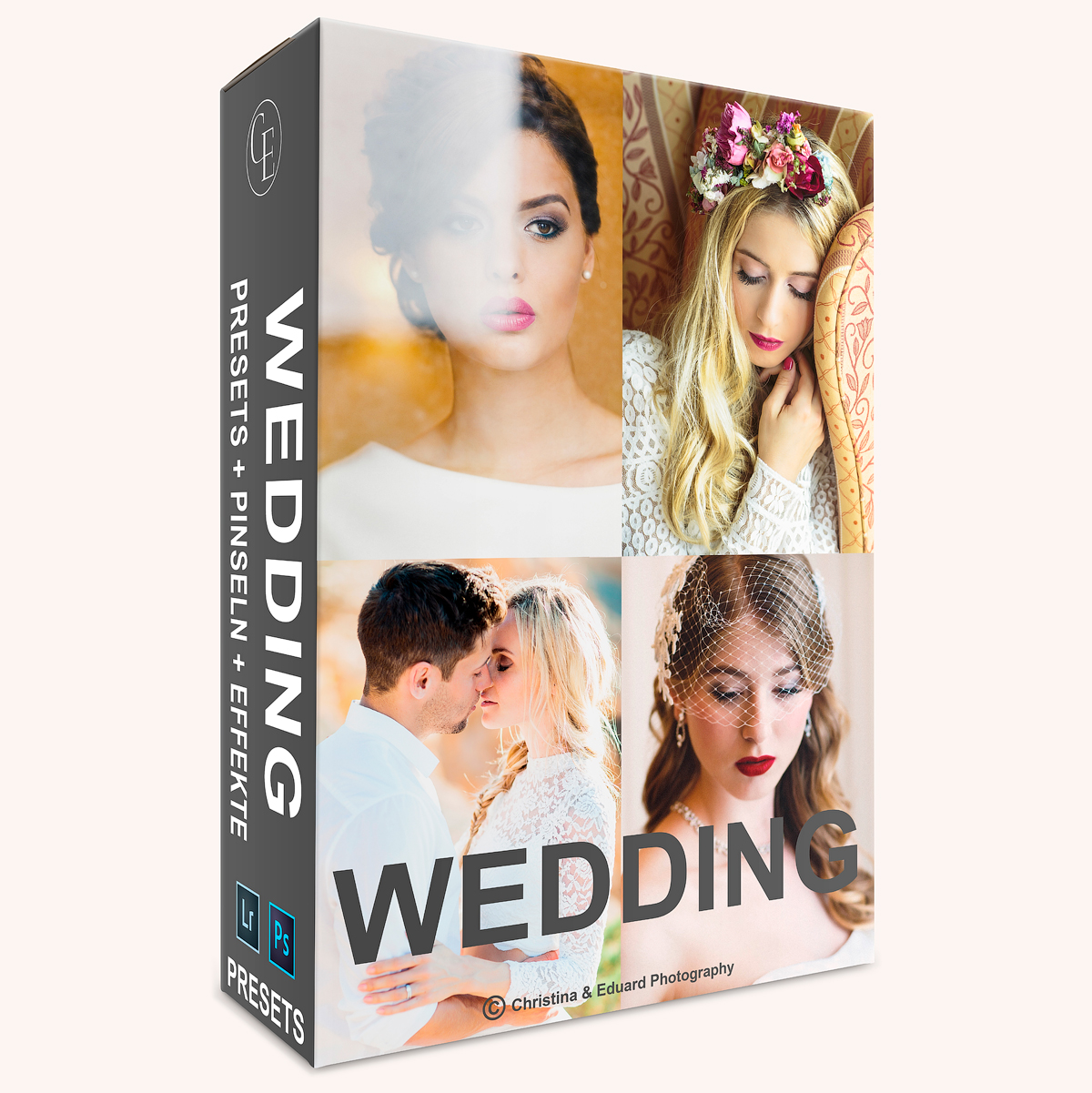WEDDING Presetsset für Lightroom und Photoshop