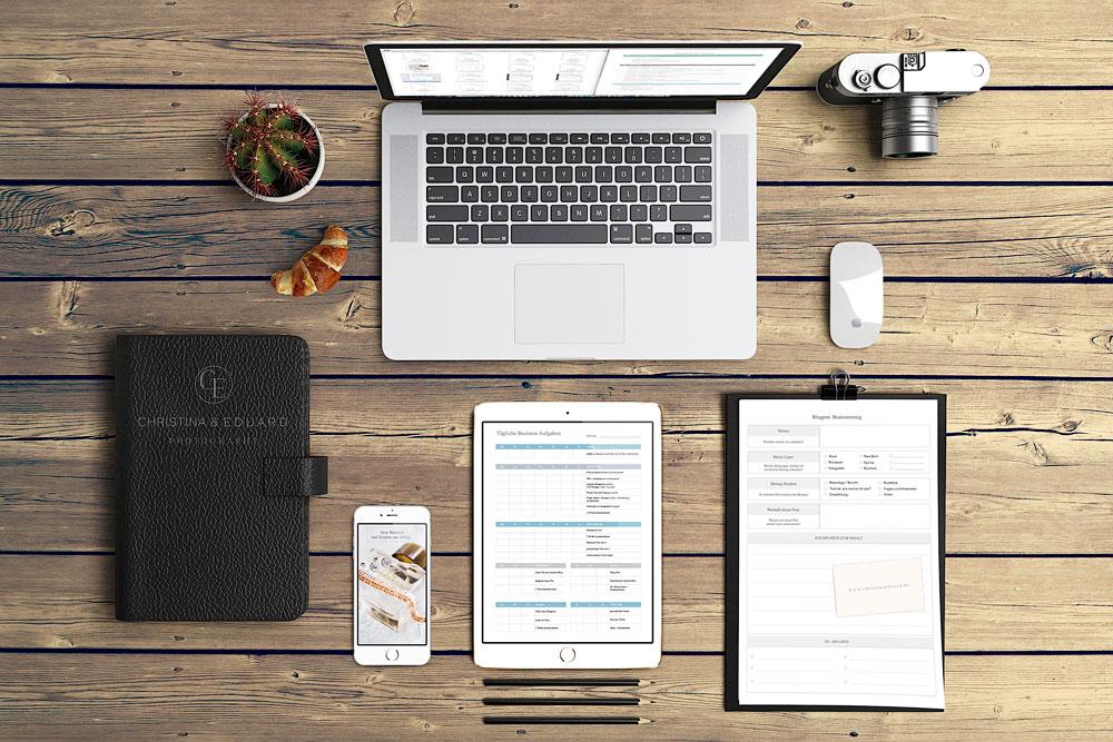 Business- und Zeitplaner | Zeitmanagement für Fotografen und Fotostudios