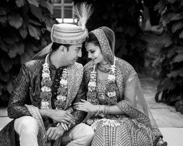 Hochzeitsfotos in Schwarz/Weiß abgeben?