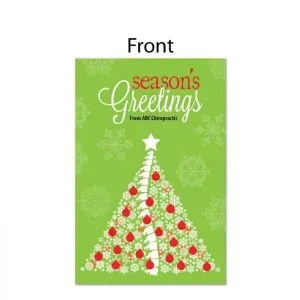 Merry Christmas Tag JustUs Chiropractic Marketing