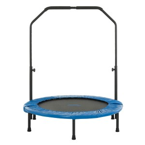 3.5ft-Mini-round-Handrail-Folding-Trampoline-for-Playschool-Kids