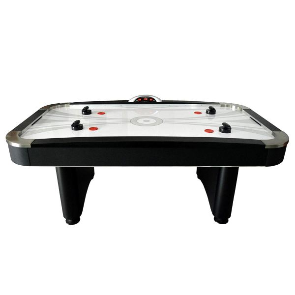 7Ft Electronic Air Hockey Table with Electronic Scoring