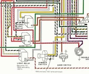Porsche® 19561959 Wiring Diagram POSTER  YnZ's Online Store