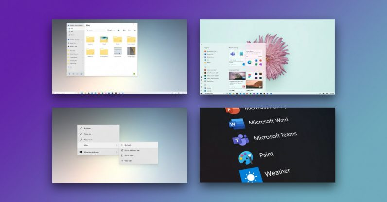 Microsoft Windows 10 Fluent