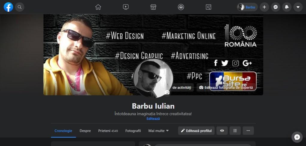 Facebook Persoana Storeday.ro