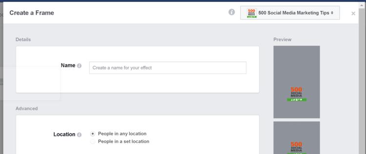 Detalii Rama Facebook